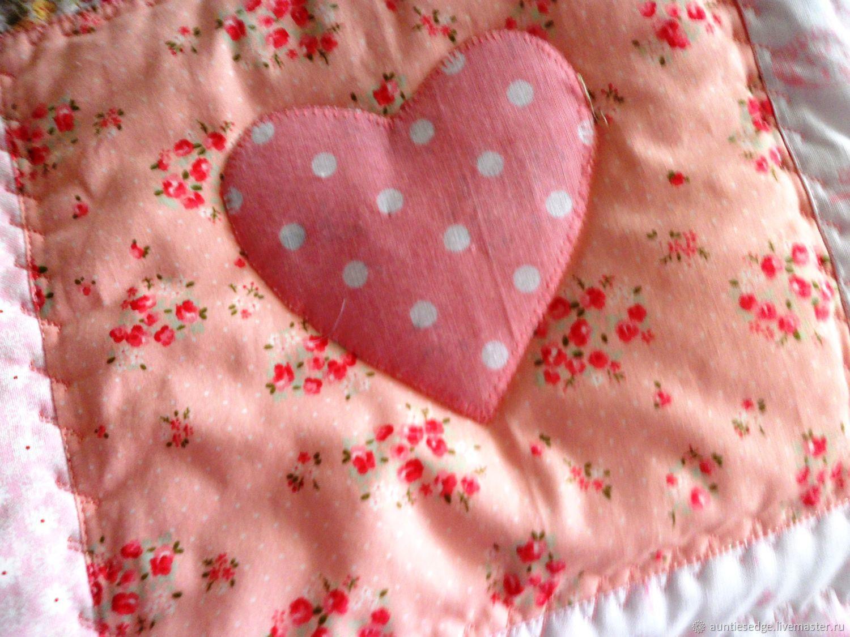 """Одеяло стеганое лоскутное """"Просто Любовь"""", Одеяла, Курск,  Фото №1"""