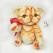 Куклы и игрушки ручной работы. Ярмарка Мастеров - ручная работа Котёнок тедди Вильям. Handmade.