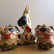 Подарки к праздникам ручной работы. Ярмарка Мастеров - ручная работа Армейские собачки. Handmade.