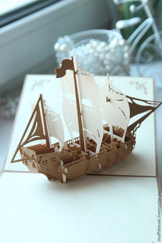 Персональные подарки ручной работы. Ярмарка Мастеров - ручная работа. Купить открытки 3D. Handmade. 3d открытка, открытка на свадьбу
