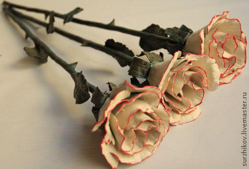 Подарки для влюбленных ручной работы. Ярмарка Мастеров - ручная работа. Купить Кованые цветы. Handmade. Кованые изделия, сталь