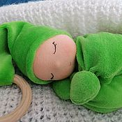 Куклы и игрушки handmade. Livemaster - original item Waldorf doll butterfly. Handmade.