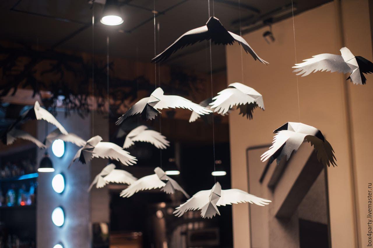 фотосессия с бумажными птицами все равно узнали