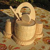 Для дома и интерьера ручной работы. Ярмарка Мастеров - ручная работа Посуда из дерева. Handmade.