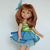 Куклы и игрушки ручной работы. Ярмарка Мастеров - ручная работа Ленок - наряд ля кукол Paola Reina. Handmade.
