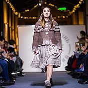 Outerwear Jackets handmade. Livemaster - original item Felt jacket made of natural wool, 44-48 p.. Handmade.