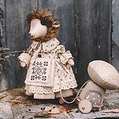 Куклы и игрушки ручной работы. Ярмарка Мастеров - ручная работа Ежиха.. Handmade.