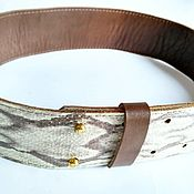 Аксессуары handmade. Livemaster - original item Wide women belt leather. Handmade.