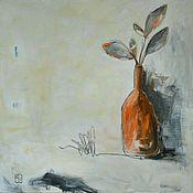 "Картины и панно ручной работы. Ярмарка Мастеров - ручная работа Абстрактная картина ""Summer in the bottle"". Handmade."