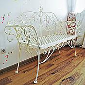 Для дома и интерьера handmade. Livemaster - original item Wrought iron banquette-bench. Handmade.