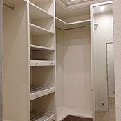 Для дома и интерьера ручной работы. Ярмарка Мастеров - ручная работа Гардеробные комнаты из мдф в классическом стиле. Handmade.