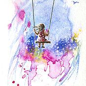 Картины и панно ручной работы. Ярмарка Мастеров - ручная работа Весенние истории: Моя маленькая вселенная. Handmade.