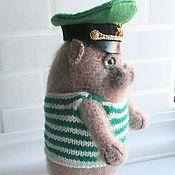 Куклы и игрушки handmade. Livemaster - original item Cat Guard. Handmade.