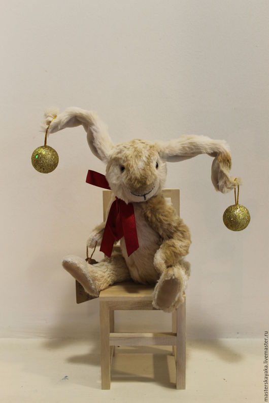 Мишки Тедди ручной работы. Ярмарка Мастеров - ручная работа. Купить Маленький Зайчик. Handmade. Тедди, кролик тедди
