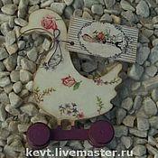 Для дома и интерьера ручной работы. Ярмарка Мастеров - ручная работа Бабушкин гусь Себастиан в стиле шебби. Handmade.
