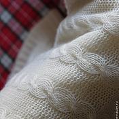 Для дома и интерьера handmade. Livemaster - original item Plaid White cloud. Handmade.