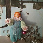 Мини фигурки и статуэтки ручной работы. Ярмарка Мастеров - ручная работа Ватная игрушка Клоун. Handmade.