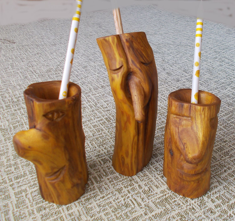 Карандашница из дерева, Карандашницы, Черноморское, Фото №1