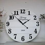 """Для дома и интерьера handmade. Livemaster - original item Copy of Copy of Copy of Large Wall Clock 24"""". Handmade."""