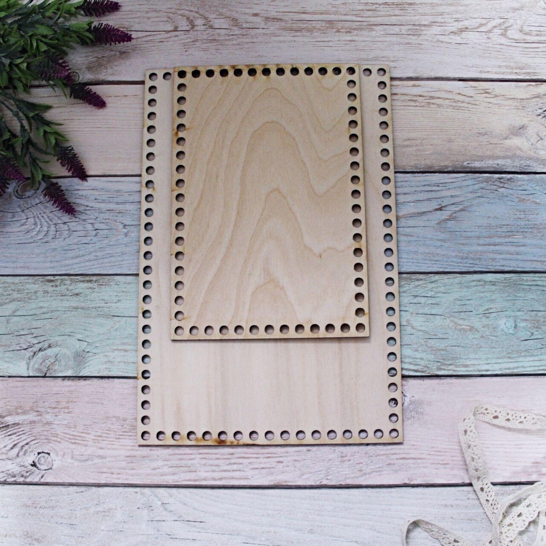 Wooden bottoms for baskets-rectangular, Frameworks for knitting, Vladimir,  Фото №1