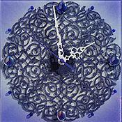 """Для дома и интерьера ручной работы. Ярмарка Мастеров - ручная работа Часы """"Нежное кружево"""". Handmade."""