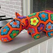 Куклы и игрушки handmade. Livemaster - original item Knitted behemoth Anna-Lisa. Handmade.