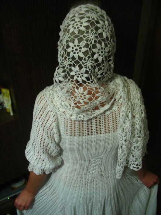 Одежда и аксессуары ручной работы. Ярмарка Мастеров - ручная работа. Купить Подвенечный наряд. Handmade. Хлопок