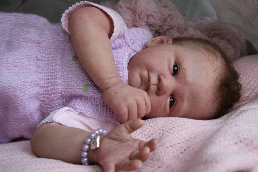 Куклы-младенцы и reborn ручной работы. Ярмарка Мастеров - ручная работа. Купить Кукла реборн Кристина. Handmade. Реборн, холофайбер