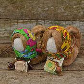 Куклы и игрушки ручной работы. Ярмарка Мастеров - ручная работа Народная кукла на счастье. Handmade.