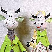 Куклы и игрушки ручной работы. Ярмарка Мастеров - ручная работа Милые бранятся, только тешатся. Семейная парочка.. Handmade.
