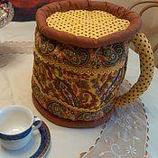 Для дома и интерьера ручной работы. Ярмарка Мастеров - ручная работа Кружка на чайник. Handmade.