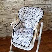 Чехол на стульчик ручной работы. Ярмарка Мастеров - ручная работа Чехол на стульчик для кормления happy baby william. Handmade.