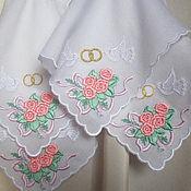 Свадебный салон ручной работы. Ярмарка Мастеров - ручная работа Платок для венчания (набор 4 штуки). Handmade.