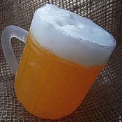 Сувениры и подарки handmade. Livemaster - original item A full Cup of fresh draught beer - gift beer lovers. Handmade.