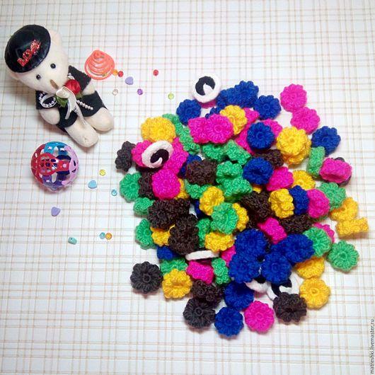 """Развивающие игрушки ручной работы. Ярмарка Мастеров - ручная работа. Купить Мозаика """"Цветочки"""". Handmade. Развивающая игрушка, мелкая моторика"""