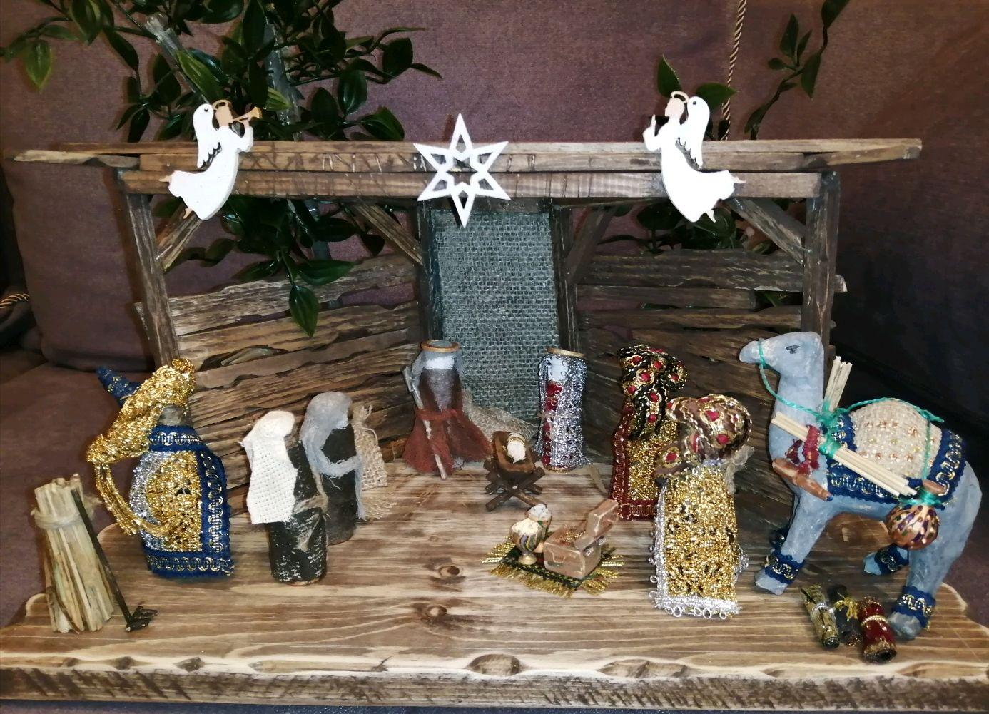 Макет - диорама Рождественского Вертепа, Кукольные домики, Балашиха,  Фото №1