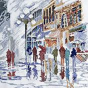 Картины и панно ручной работы. Ярмарка Мастеров - ручная работа Оптимистичный дождик. Handmade.