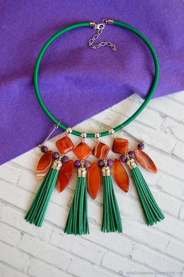 Necklace 'Bright accent', Necklace, Kolomna,  Фото №1