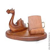 Сувениры и подарки ручной работы. Ярмарка Мастеров - ручная работа Подставка под смартфон Dragon. Handmade.