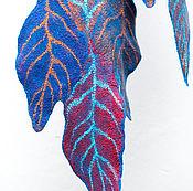 Аксессуары ручной работы. Ярмарка Мастеров - ручная работа Авторский валяный шарф. Handmade.