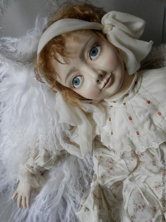 Куклы и игрушки ручной работы. Ярмарка Мастеров - ручная работа. Купить шкурка козочки белая. Handmade. Белый, паричек, рукоделие
