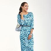Одежда handmade. Livemaster - original item Dress with designer print Ksenia Knyazeva. Handmade.