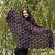 Order Nymphadora shawl crocheted. Lily Kryuchkova (kruchokk). Livemaster. . Shawls Фото №3