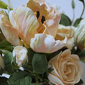 """Цветы и флористика ручной работы. Ярмарка Мастеров - ручная работа """"Весенний сад"""". Handmade."""