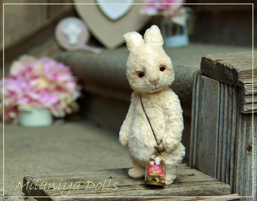 Friends Teddy. The author's work. Teddy-Bunny, Stuffed Toys, Vladikavkaz,  Фото №1