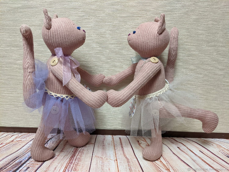 Кошечка - балерина, Мягкие игрушки, Москва,  Фото №1