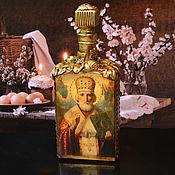 Сувениры и подарки handmade. Livemaster - original item Vessel for Holy water. Nicholas. Handmade.
