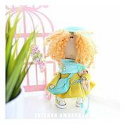 """Куклы и игрушки ручной работы. Ярмарка Мастеров - ручная работа Текстильная кукла. Малышка """"Sunny"""". Handmade."""