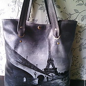 Сумки и аксессуары handmade. Livemaster - original item Leather bag Champ de Mars 3. Handmade.