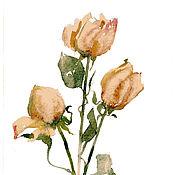 Картины и панно ручной работы. Ярмарка Мастеров - ручная работа Сухоцветы. Handmade.